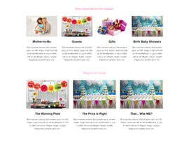 #8 for Design a Website Mockup for planyourbabyshower.com by anazavavjf