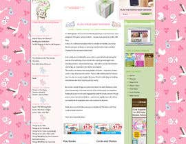 #2 for Design a Website Mockup for planyourbabyshower.com by webidea12