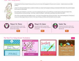#22 for Design a Website Mockup for planyourbabyshower.com by websoft07