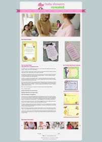 #11 cho Design a Website Mockup for planyourbabyshower.com bởi logodesire