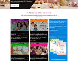 #20 for Design a Website Mockup for planyourbabyshower.com by xsasdesign