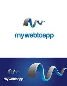 #103 untuk Design a Logo for a webpage mywebtoapp.com oleh silverhand00099