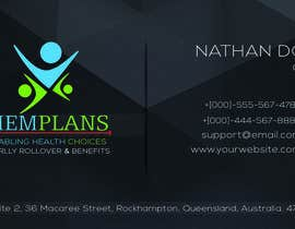 #63 for Design some Business Cards for Memplans by anikush