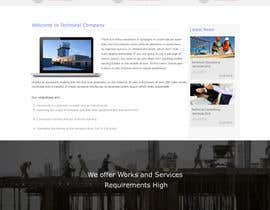 #4 untuk Design a Website Mockup for Civil Engineer - Technical company oleh webidea12