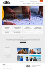 #8 for Design a Website Mockup for Civil Engineer - Technical company af zicmedia