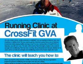 #20 para Advertisement Design for Running Clinic por bigredbox