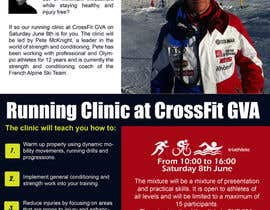 #14 para Advertisement Design for Running Clinic por YogNel