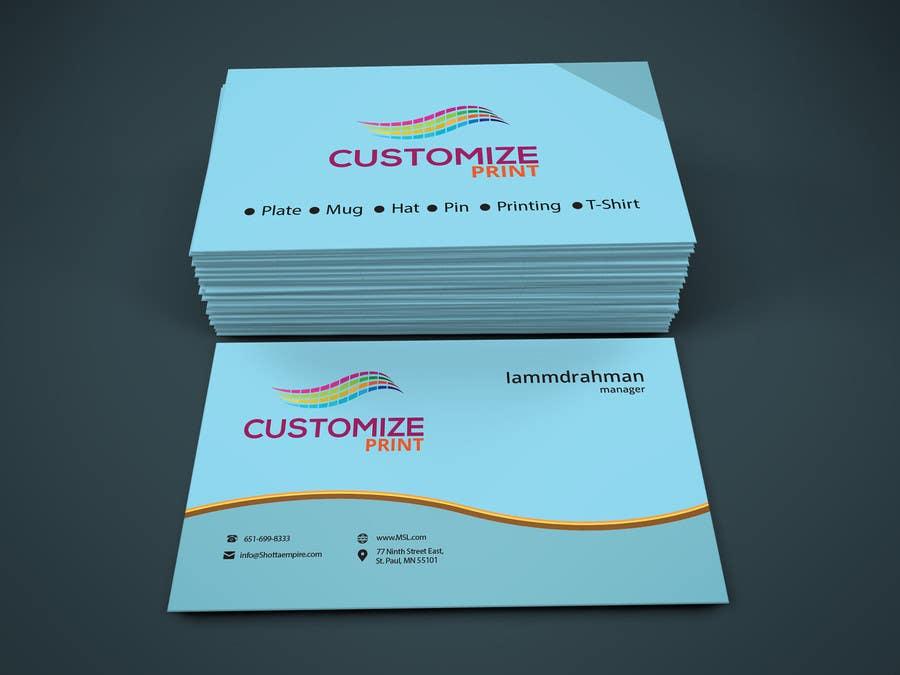 Konkurrenceindlæg #                                        21                                      for                                         Design Business Card With Logo