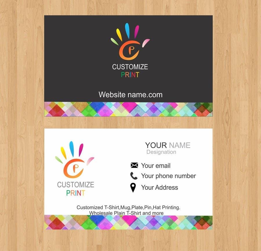 Inscrição nº 61 do Concurso para Design Business Card With Logo