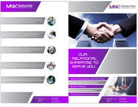 #20 for Design a Single Fold Brochure for M2K Consulting by ciprilisticus