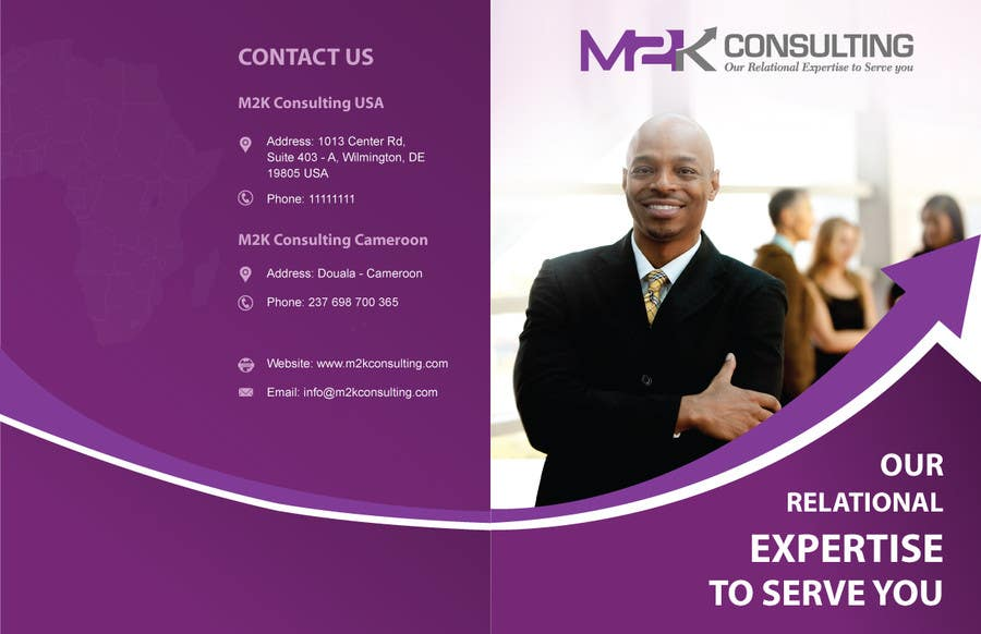 Konkurrenceindlæg #7 for Design a Single Fold Brochure for M2K Consulting