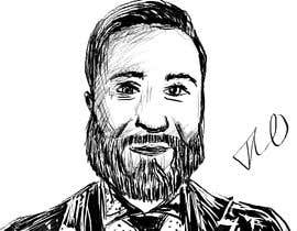 #83 pentru Ink Portrait Sketch (One Billable Hour @ $30/hour) (Ongoing Opportunity) de către bobanlackovic