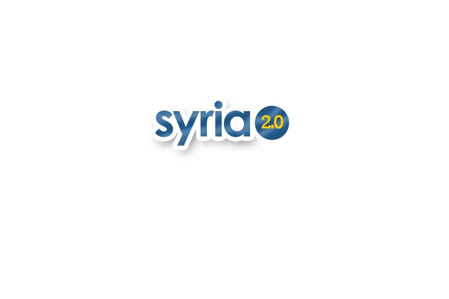 Penyertaan Peraduan #                                        78                                      untuk                                         Logo Design for Syria 2.0