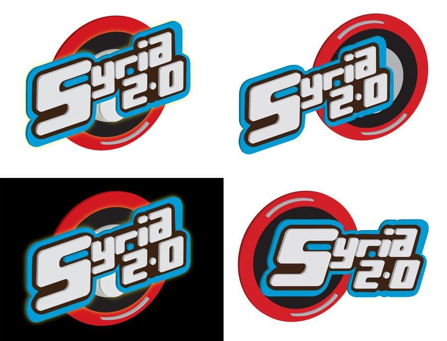 Penyertaan Peraduan #                                        104                                      untuk                                         Logo Design for Syria 2.0