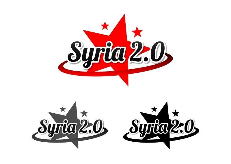Penyertaan Peraduan #                                        180                                      untuk                                         Logo Design for Syria 2.0