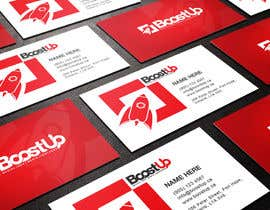 Cbox9 tarafından Design a Logo, business card and social media banner for BoostUp için no 259