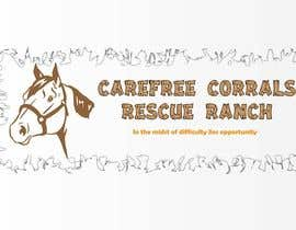 #17 para Logo Design for Carefree Corrals, a non-profit horse rescue. por dinezatwork