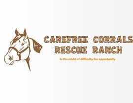 #18 para Logo Design for Carefree Corrals, a non-profit horse rescue. por dinezatwork