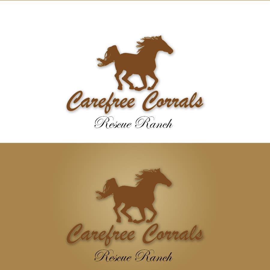 Inscrição nº 28 do Concurso para Logo Design for Carefree Corrals, a non-profit horse rescue.