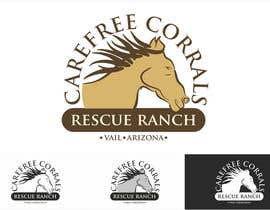 #32 for Logo Design for Carefree Corrals, a non-profit horse rescue. by Farignrooy