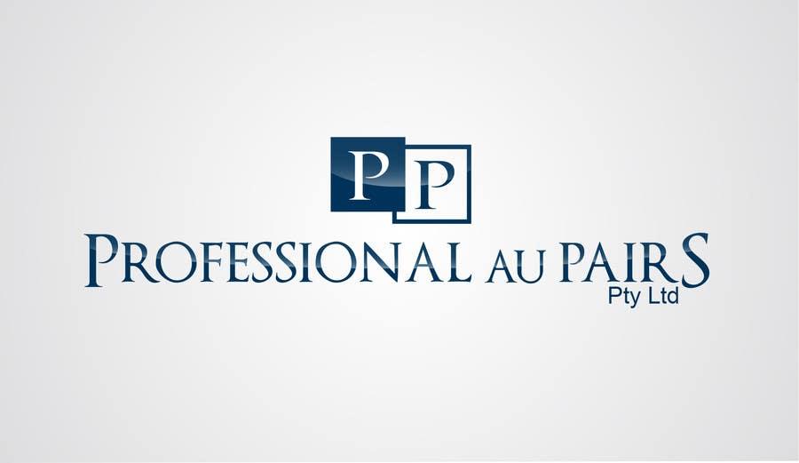 Kilpailutyö #203 kilpailussa Logo Design for Professional Au Pairs Pty Ltd