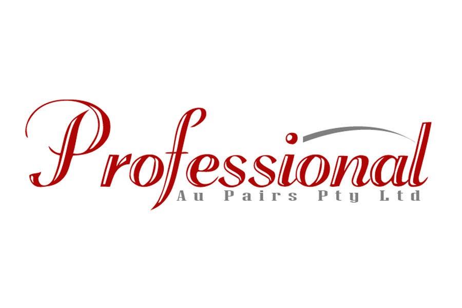 Kilpailutyö #138 kilpailussa Logo Design for Professional Au Pairs Pty Ltd