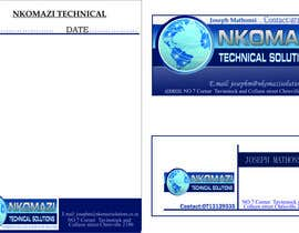 #3 untuk Design Letterhead and Business Card for a technical solutions company oleh hashimali94