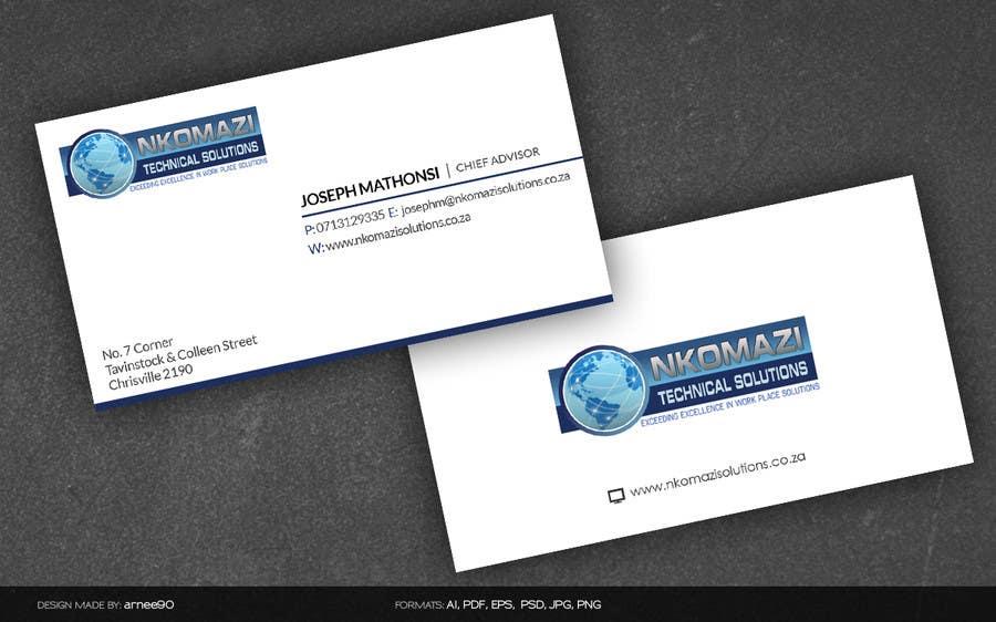 Entry 9 by arnee90 for design letterhead and business card for a contest entry 9 for design letterhead and business card for a technical solutions company colourmoves