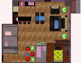 #14 for Floor plan/interior ideas for sub-penthouse condo (1000sq feet) af sivapragalathan