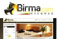 Graphic Design Konkurrenceindlæg #112 for Logo design for a travel website about Burma (Myanmar)