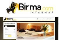 Graphic Design Konkurrenceindlæg #113 for Logo design for a travel website about Burma (Myanmar)