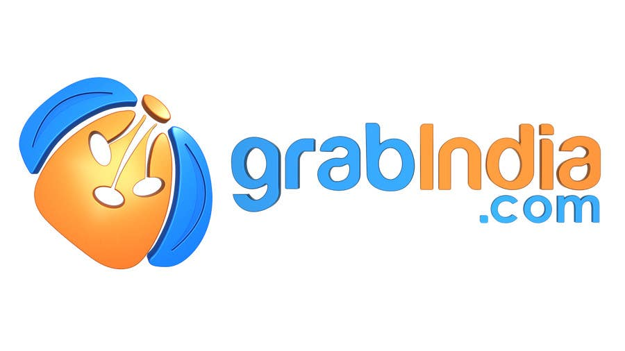Konkurrenceindlæg #                                        75                                      for                                         Design a Logo for GrabIndia.com
