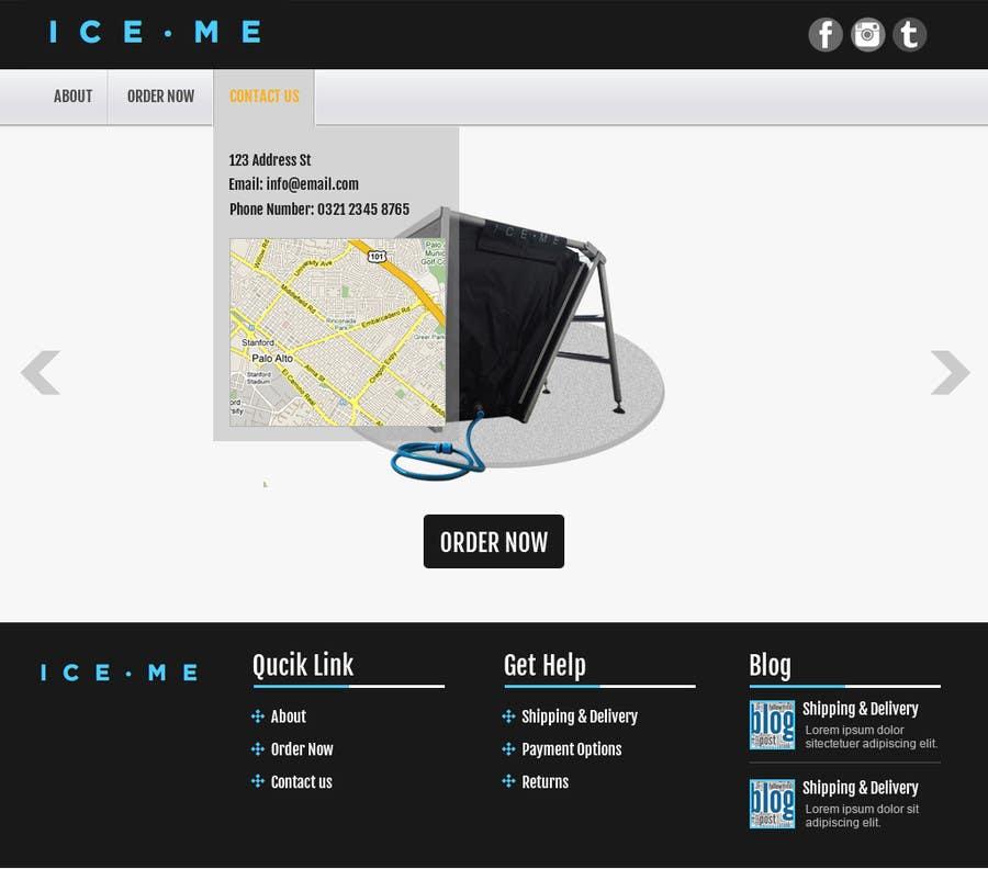 Proposition n°                                        22                                      du concours                                         Design Website based on Nike Homepage - Easy!