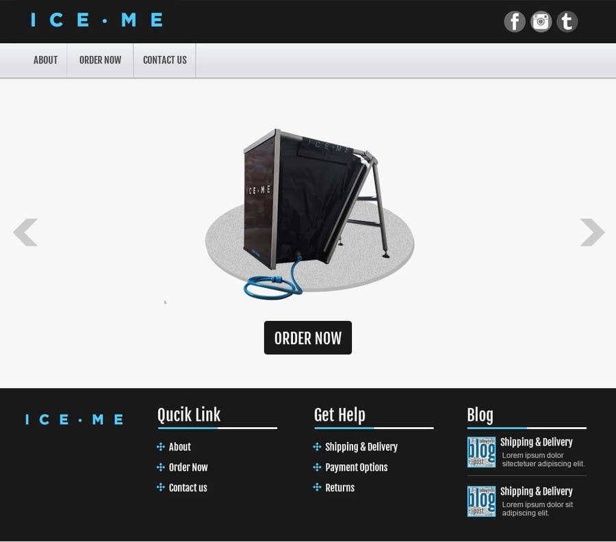 Proposition n°                                        23                                      du concours                                         Design Website based on Nike Homepage - Easy!
