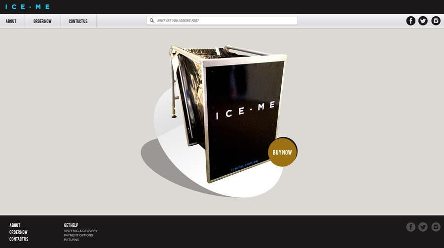 Proposition n°                                        2                                      du concours                                         Design Website based on Nike Homepage - Easy!