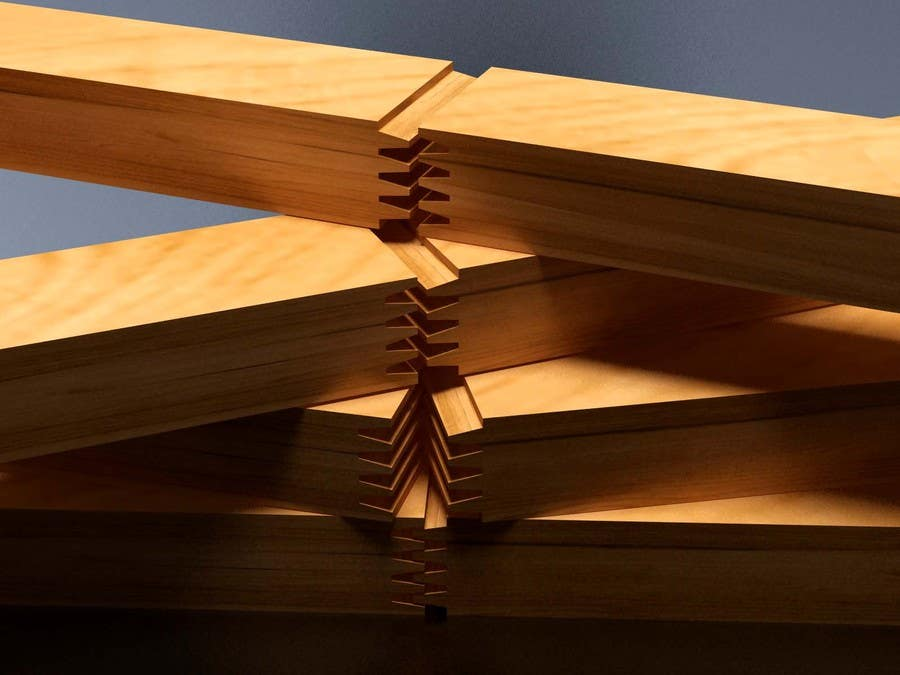 Konkurrenceindlæg #                                        59                                      for                                         Realistic 3D modelling - Sawed Wood profiles