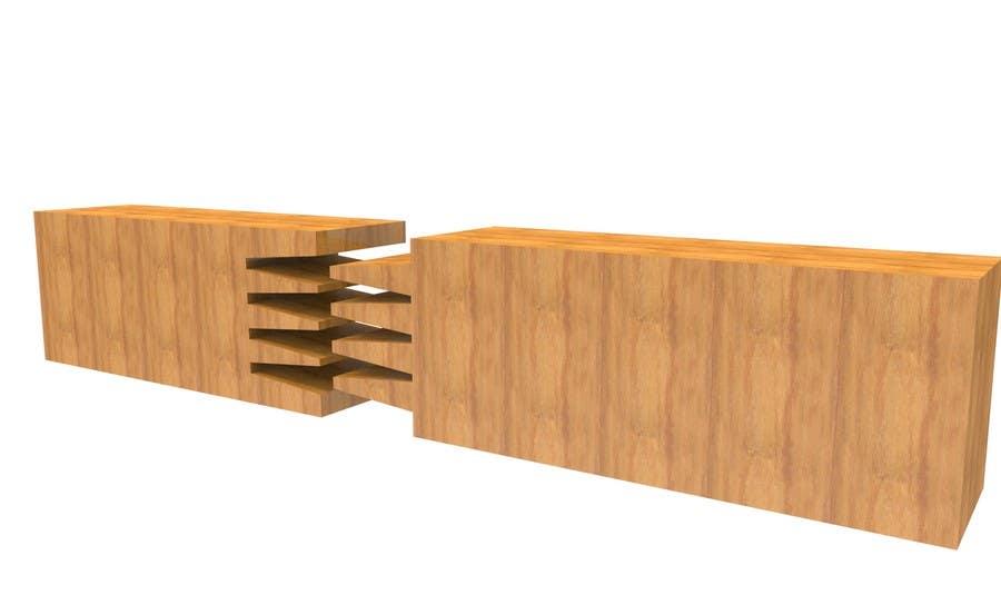 Konkurrenceindlæg #                                        4                                      for                                         Realistic 3D modelling - Sawed Wood profiles
