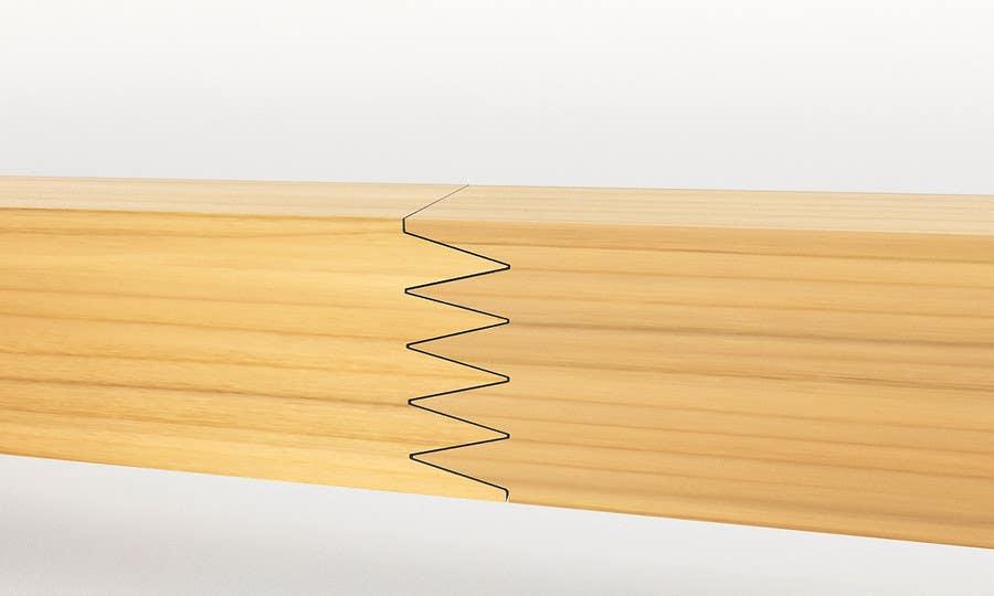 Konkurrenceindlæg #                                        14                                      for                                         Realistic 3D modelling - Sawed Wood profiles