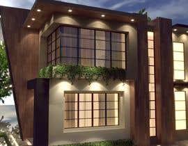 #45 para Exterior Design for a house por meshofreelancer