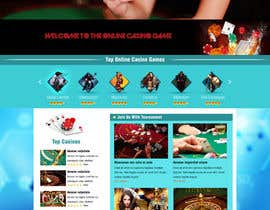 #7 para Design a Website Mockup for Gamerslab - a Gaming Website por greenarrowinfo
