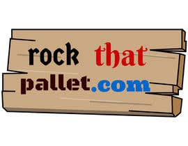 #37 for Design a Logo for Rockthatpallet.com by janainabarroso