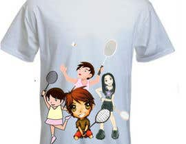 #16 for Design a T-Shirt for Parody Avengers, Badminton, Chibi style by mukundrathi2905