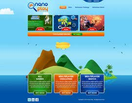 #6 para Website Design for nanoplay por tania06