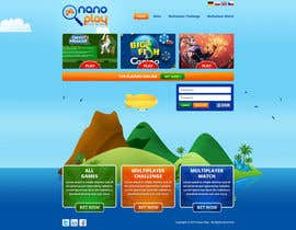 #9 for Website Design for nanoplay af tania06