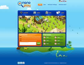 #26 para Website Design for nanoplay por tania06