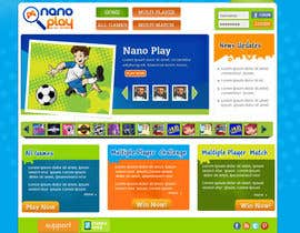 #11 para Website Design for nanoplay por rajibdesigner900