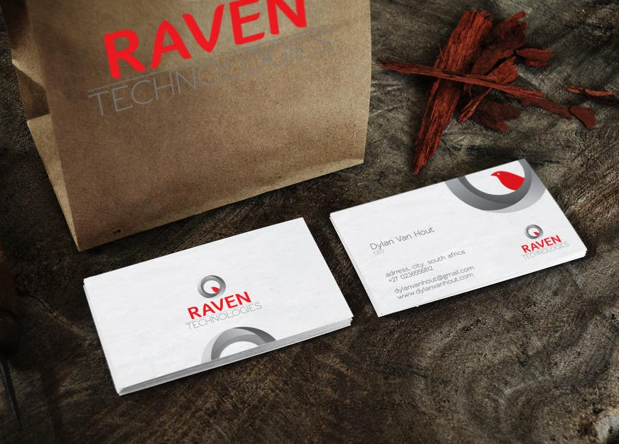 Konkurrenceindlæg #                                        53                                      for                                         Design a Logo for Raven Tech (IT Reseller)
