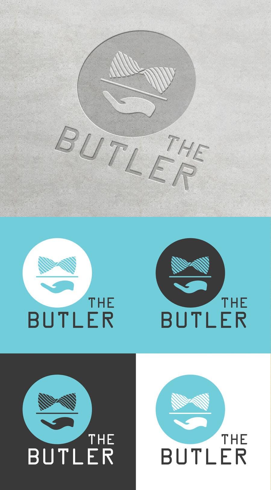 Contest Entry #                                        34                                      for                                         Design a Logo for The Butler