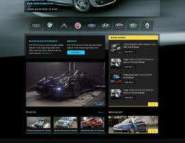#30 cho Design a Website Mockup for a (chip)Tuning company bởi Pavithranmm