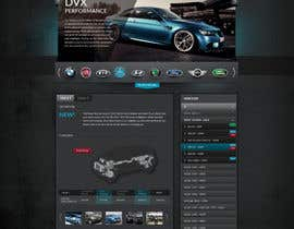 #89 for Design a Website Mockup for a (chip)Tuning company by Artnetta